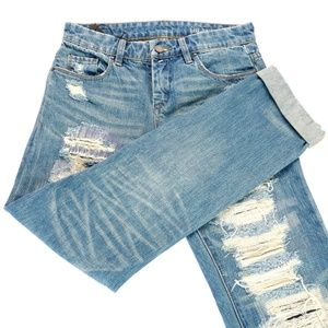 Blank NYC Galaxy Distressed Jeans - Size 25 - NWT